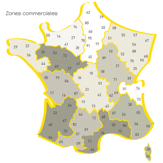 zones commerciales adc