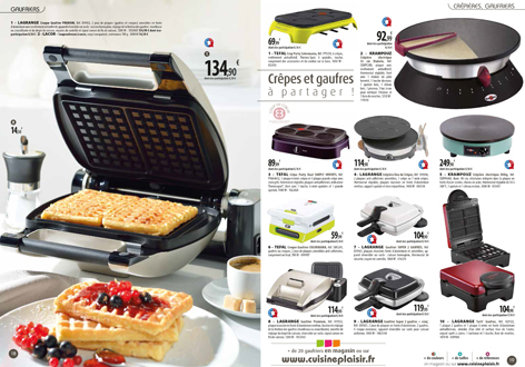 catalogue gaufre